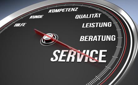 Bester Serviceumfang
